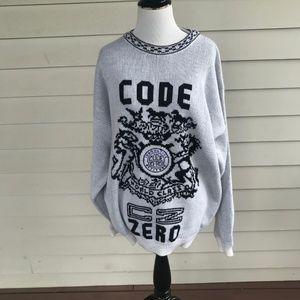 Vintage Code Zero Intensity Crew Neck Sweater
